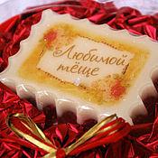 Косметика ручной работы. Ярмарка Мастеров - ручная работа Мыло Подарок тёще («винтаж», в подарочной коробочке в виде сердца). Handmade.