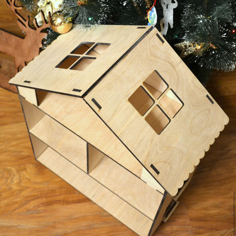 Маленькие домики из фанеры своими руками