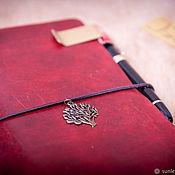 Канцелярские товары handmade. Livemaster - original item Suspension for a traveler`s notebook. Handmade.