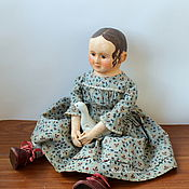 Луиза.  Репродукция (реплика) кукол Izannah Walker.