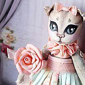 """Куклы и игрушки ручной работы. Ярмарка Мастеров - ручная работа Кошечка """"Стеша"""". Handmade."""