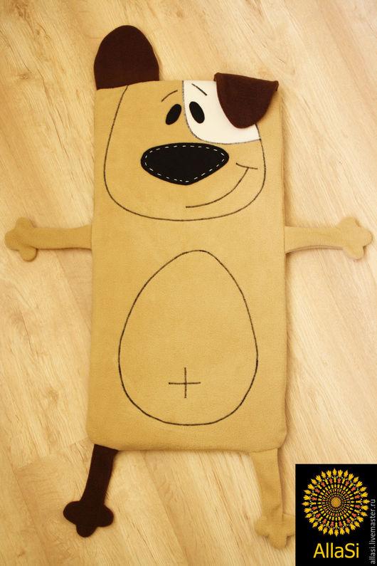 Для новорожденных, ручной работы. Ярмарка Мастеров - ручная работа. Купить Матрасик Собака Джек Рассел в прогулочную коляску. Handmade.