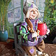 Brownie Egorka. Stuffed Toys. ZOYA KHOLINA. My Livemaster. Фото №5