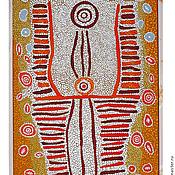 Картины и панно ручной работы. Ярмарка Мастеров - ручная работа аборигены. Handmade.
