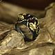 """Кольца ручной работы. Ярмарка Мастеров - ручная работа. Купить Кольцо """"Twin Aries"""". Handmade. Красный, кольцо, натуральные камни"""