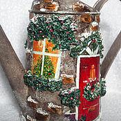 Подарки к праздникам ручной работы. Ярмарка Мастеров - ручная работа Новогодняя леечка. Handmade.