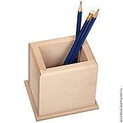 Материалы для творчества handmade. Livemaster - original item Sh10810 pencil Holder 10 8 10 organizer for pens, pencils. Handmade.