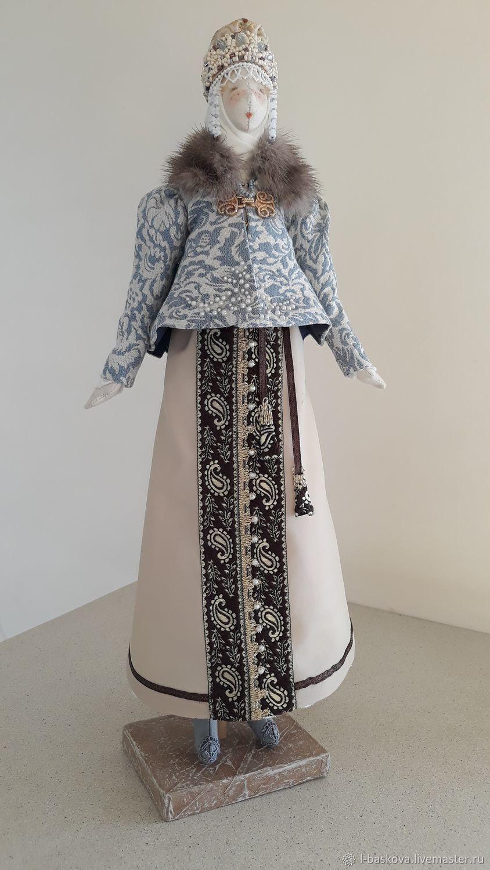 Русская красавица, Народная кукла, Ирбит,  Фото №1