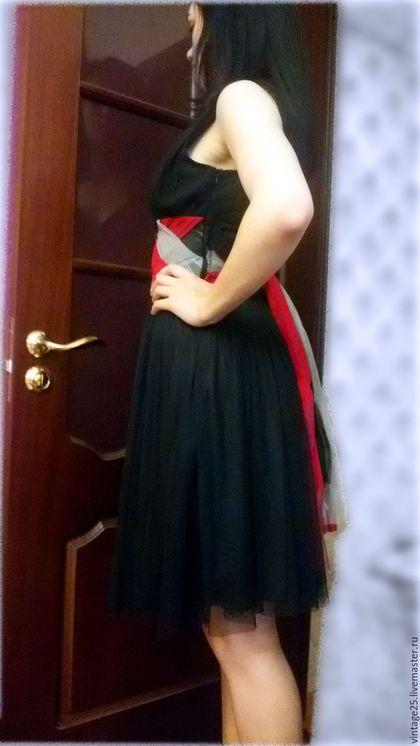 """Одежда. Винтажное платье (маленькое черное платье) НОВОЕ. Винтажный салон """"Консуэлло"""". Интернет-магазин Ярмарка Мастеров. Платье"""