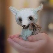 Куклы и игрушки ручной работы. Ярмарка Мастеров - ручная работа Мятная Лисичка. Handmade.
