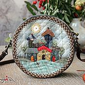 Сумки и аксессуары handmade. Livemaster - original item Japanese round handbag