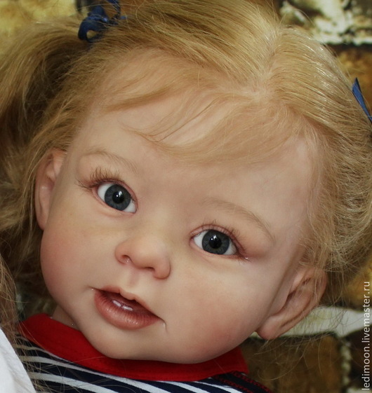 Куклы-младенцы и reborn ручной работы. Ярмарка Мастеров - ручная работа. Купить Кукла реборн Бонни. Handmade. Бежевый