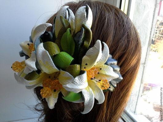 цветы из кожи. цветы кожаные. Туся. цветы из кожи в украшении. цветы из кожи ручной работы. цветы из кожи фантазийные. цветы из кожи купить. цветы из кожи заказать. заколка с цветами из кожи. цветы.