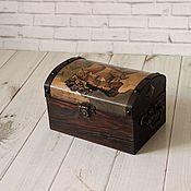 Для дома и интерьера handmade. Livemaster - original item Box:Pirate Chest small. Handmade.