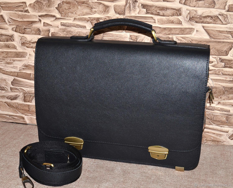 Men's bag: Men's portfolio 'Akademik', Men\'s bag, Bogorodsk,  Фото №1