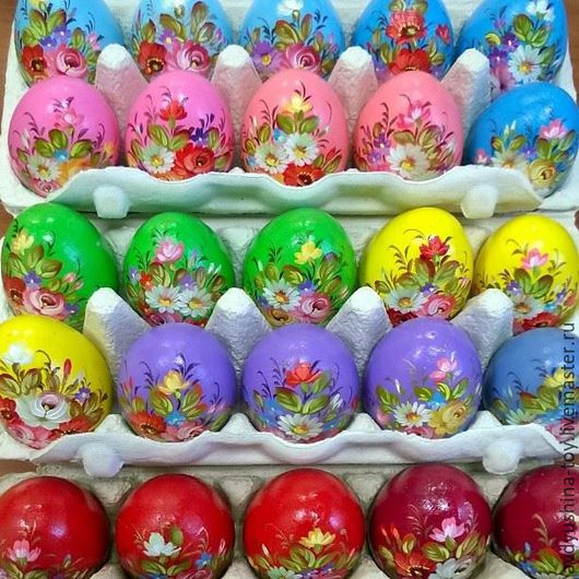 Подарки на Пасху ручной работы. Ярмарка Мастеров - ручная работа. Купить Пасхальное яйцо Жостово. Handmade. Комбинированный, пасхальное яйцо