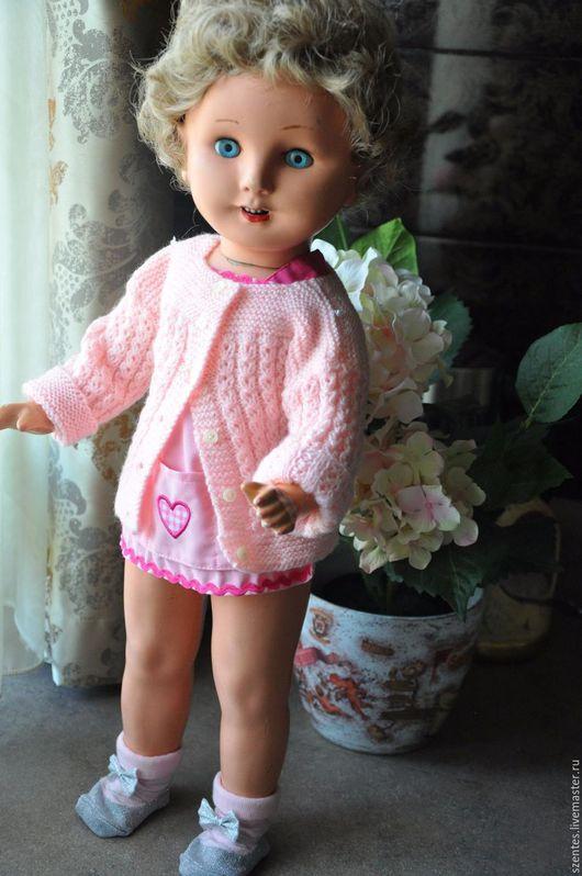 Винтажные куклы и игрушки. Ярмарка Мастеров - ручная работа. Купить Антикварная кукла Frank Popper. Handmade. Бежевый