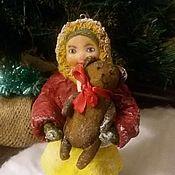 Куклы и игрушки handmade. Livemaster - original item Annie, cotton toy. Handmade.