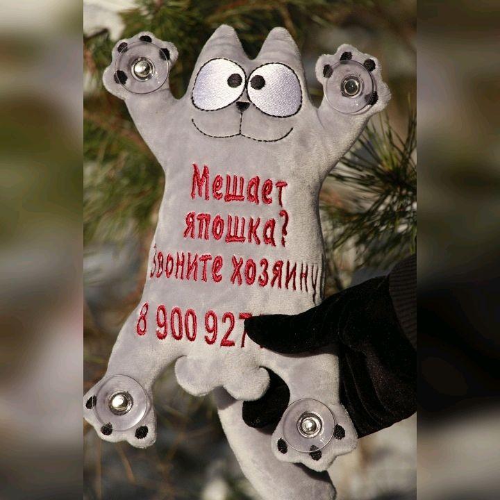 Автокот Саймон, Автомобильные сувениры, Воронеж,  Фото №1