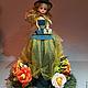 Кукла из конфет `Магдалена`. Сладкая композиция. Наталия Жукова. divo - divo. Ярмарка Мастеров.