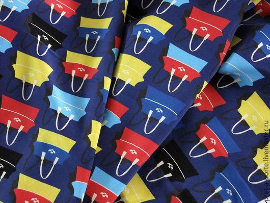 Шитье ручной работы. Ярмарка Мастеров - ручная работа. Купить LANVIN шелковый крепдешин, Италия. Handmade. Итальянские ткани, комбинированный