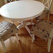 """Подушки ручной работы. Ярмарка Мастеров - ручная работа Чехол на стул """"Эко Стиль"""". Handmade."""