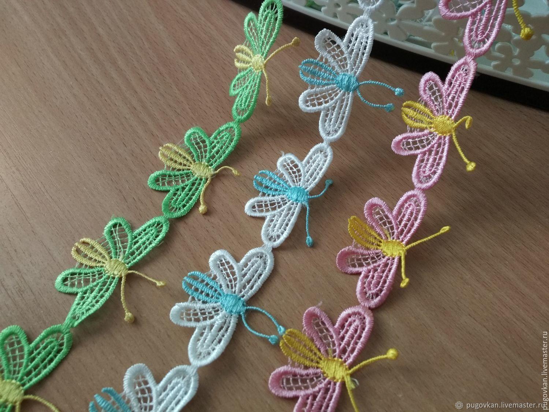Бабочка кружевной элемент, Аппликации, Глазов,  Фото №1