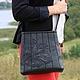 """Женские сумки ручной работы. Ярмарка Мастеров - ручная работа. Купить Кожаная сумочка """"Магический цветок"""", с длинным ремешком. Handmade."""