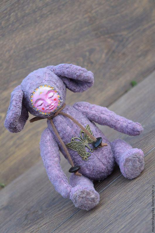 Мишки Тедди ручной работы. Ярмарка Мастеров - ручная работа. Купить Юный Ганс. Handmade. Сиреневый, тедди