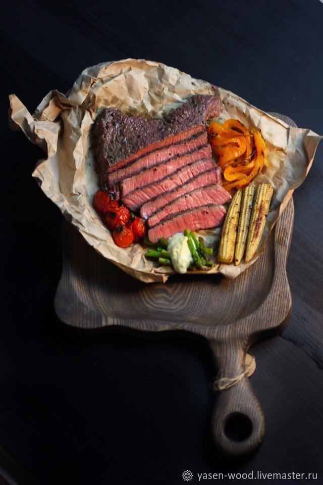 Steak and Burger Board 'Malevich XL'. Free shipping, Ware in the Russian style, Moscow,  Фото №1
