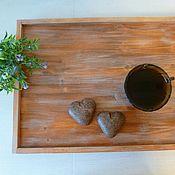 Для дома и интерьера ручной работы. Ярмарка Мастеров - ручная работа Поднос из дерева. Handmade.