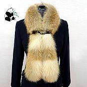 Аксессуары handmade. Livemaster - original item Chic fur scarf boa fur Siberian red Fox.. Handmade.