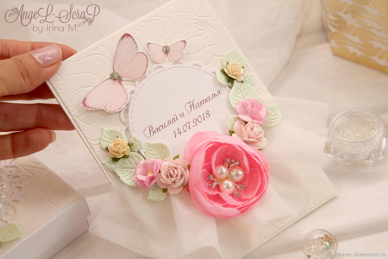 Свадебная открытка в коробочке, Открытки, Москва, Фото №1