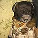 Мишки Тедди ручной работы. Ярмарка Мастеров - ручная работа. Купить КОМАНДАНТЕ. Handmade. Коричневый, вискоза