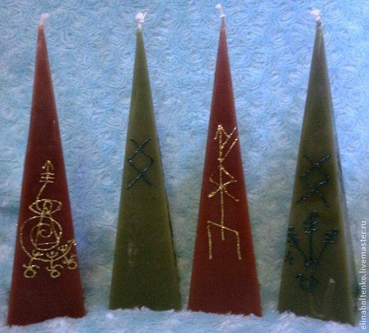 программные пирамидальные свечи