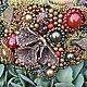 Браслеты ручной работы. Ярмарка Мастеров - ручная работа. Купить Браслет  из бисера с натуральным гранатом Шепчущий лес. Handmade. Лес