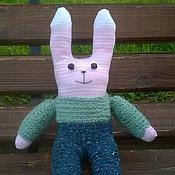 Куклы и игрушки ручной работы. Ярмарка Мастеров - ручная работа Заяц из носка. Handmade.
