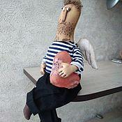 Мягкие игрушки ручной работы. Ярмарка Мастеров - ручная работа Примитивная кукла, ангел. Handmade.