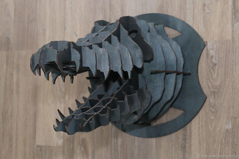 Голова Крокодил, Панно, Нижний Новгород,  Фото №1