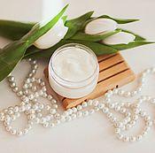 Косметика ручной работы handmade. Livemaster - original item Hand cream Silk skin hand Cream with silk hydration nutrition. Handmade.