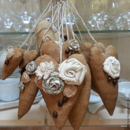 """Ароматизированные куклы ручной работы. Ярмарка Мастеров - ручная работа. Купить Кофейное сердце """"Для тебя"""". Handmade. Бежевый, суквениры"""