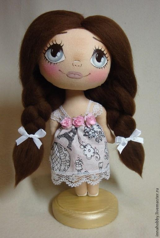 Коллекционная кукла ручной работы. Малышка `Француженка`.