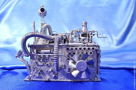 """Подарки для мужчин, ручной работы. Ярмарка Мастеров - ручная работа. Купить Копилка """"Cyber-junk"""". Handmade. Копилка, медная проволока"""