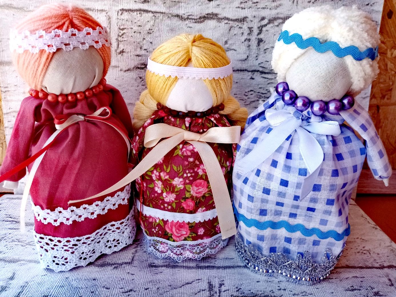 Кукла мотанка) Оберёг на беременность, Народная кукла, Зубцов,  Фото №1