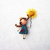 Украшения handmade. Livemaster - original item brooch Princess