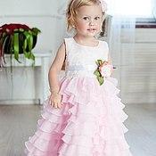 Работы для детей, ручной работы. Ярмарка Мастеров - ручная работа Aurora нарядное платье. Handmade.
