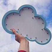 Для дома и интерьера ручной работы. Ярмарка Мастеров - ручная работа Светильник - ночник облако большое. Handmade.