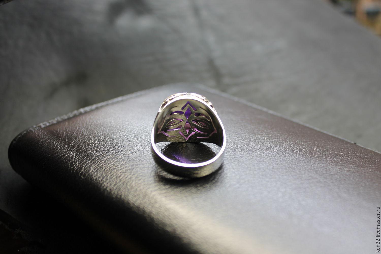 Как сделать печатку из серебра своими руками 36