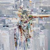 Картины и панно ручной работы. Ярмарка Мастеров - ручная работа Серая абстракция 2. Handmade.