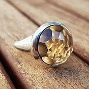 Rings handmade. Livemaster - original item Ring with smoky quartz. Handmade.